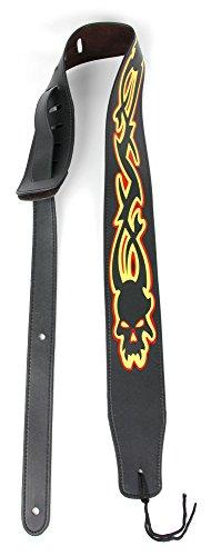 Bray Premium Universele Tribal Schedel PU Lederen Gitaar Band Voor Gitaar Hero & Rock Band Gitaren Op PS3, PS2, Xbox 360 & Wii (Compatibel met Gitaar Hero: Warriors of Rock, 6, 5, 4, 3, 2 & 1)