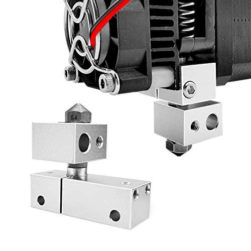 Printer Hot End Kit 1,75mm Filamentall MK10 Heizblockdüse 3D-Drucker Heiß-End-Kit für WANHAO I3 / MASTLOT/Creator PRANT 1.75mm Filament Hudson Studio