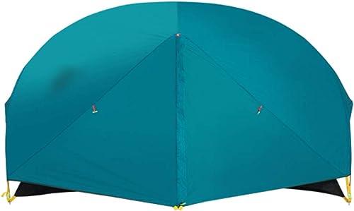 YaNanHome Tente extérieure Tente épaisse Tente Anti-Pluie 1-2 Personnes Tente Couple Tente Tente de randonnée Tente de Camping (Couleur   bleu, Taille   205  140  110cm)