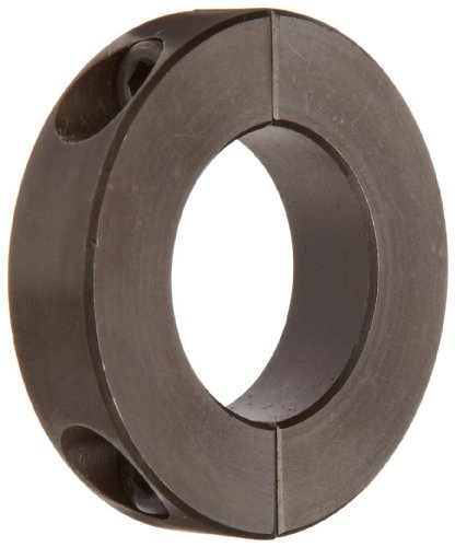 Climax Metal H2C-118 Shaft Collar, Two Piece, Black Oxide Finish, Steel, 1-3/16