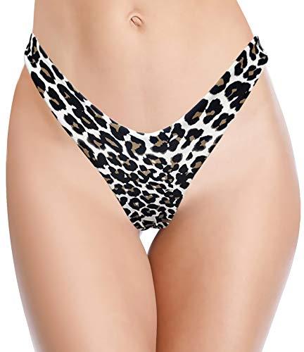 SHEKINI Dames Badpak Volants Half Lichaam Zwemrok Bikinibroek Strandshort Ingebouwde korte broek Bikini Zwempak