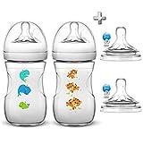 Accesorios de bebé naturales de Philips Avent, incluye 4 tetinas (2 de ellas...