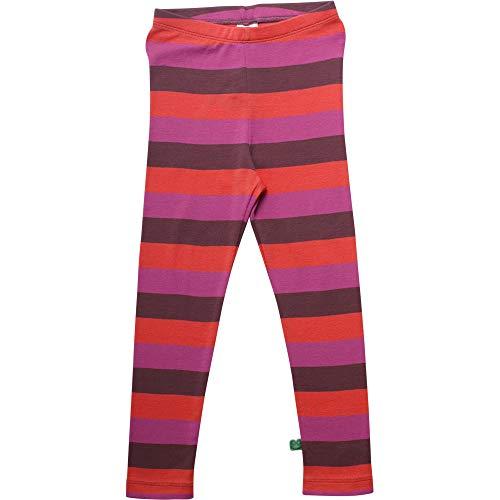 Fred'S World By Green Cotton Multi Stripe Leggings, Violet (Plum Purple 019231101), 74 Bébé Fille