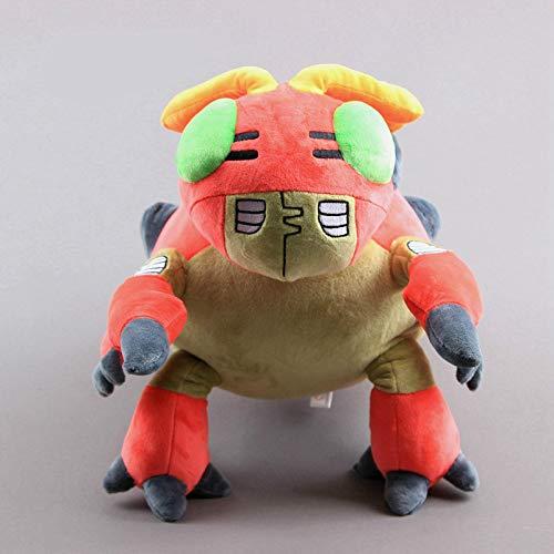 N\A 33cm Anime Digimon Tentomon Plüschtier Puppe, Große Schildkröte Weiche Kuscheltiere Spielzeug, Kinder Geburtstagsgeschenk Home Decor 33cm