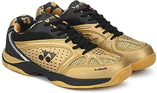 Yonex Aero Men's Gold Black Badminton Shoes -7