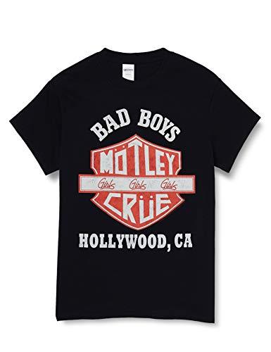 T-Shirt # Xxl Unisex Black # Bad Boys Shield