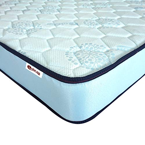 Coir-on 'Bliss' - High Density High Resilience Orthopedic PU Foam Mattress - 72X30X5 (Inch) - Blue
