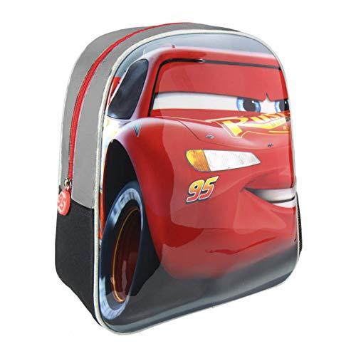 Cerdá 3D Cars Kinder-Rucksack, 31 cm, Grau (gris)