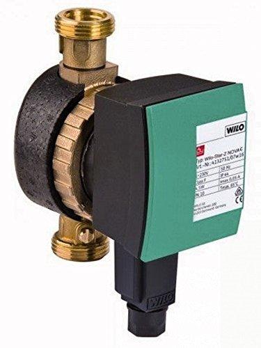 Wilo Pumpe Star-Z Nova C 230V Zirkulationspumpe für Trinkwasser mit Steckerzeitschaltuhr 4132762