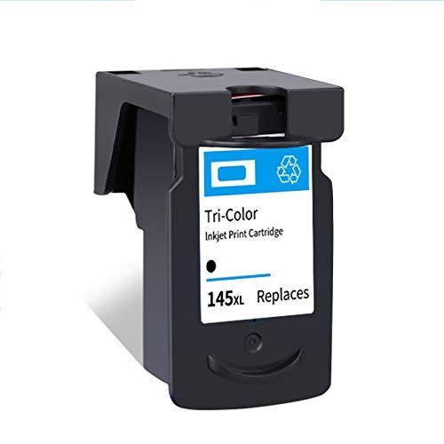 Cartucho de tinta PG145XL CL146XL, Reemplazo para Canon PIXMA MG2410 MG2510 IP2900 TR4510 TS201 301 IP2820 Cartuchos de impresora Compatible Negro y Tri-Color black