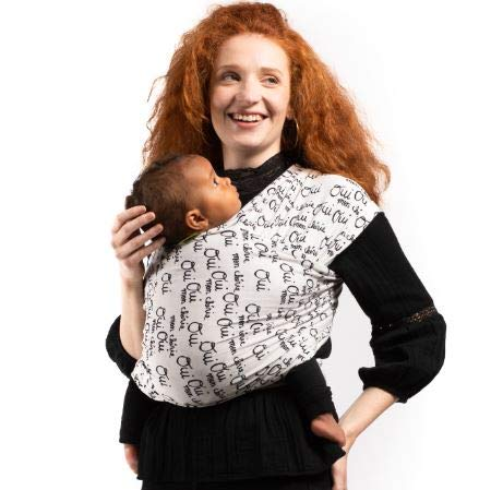 Boba Wrap Baby Carrier, Navy Blue - Original Stretchy Infant Sling, Perfect for...