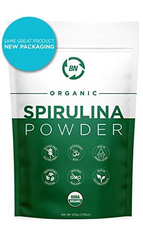 Spirulina Powder Organic - USDA Certified - RAW Nutrient Dense Over 70% Protein
