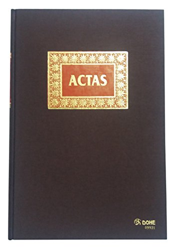 Dohe 9921 - Libro de actas, 50 hojas, folio natural