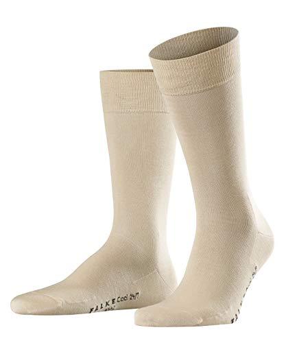 FALKE Cool Herren 24/7 M SO Socken, Blickdicht, Beige (Sand 4320), 43-44