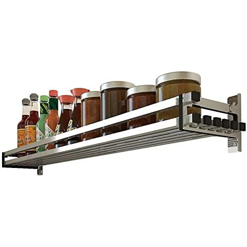 ZLQBHJ 304 seguridad de acero inoxidable sólido utensilios de cocina de acero inoxidable cubiertos utensilio utensilio, punzón libre montaje en la pared organizador drenador rack, para cocina baño pla