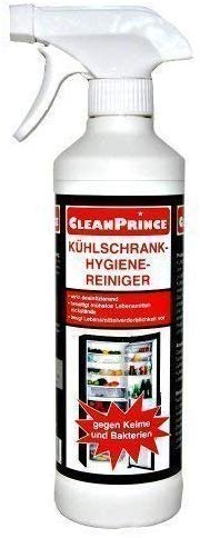 CleanPrince Kühlschrank-Hygiene-Reiniger 500 ml Küche Bakterien Desinfektion Keime Kühlschrankreiniger Kühlhaus Kühltheke Kühlung Gefrierschrank Gefriergerät Gefriertruhe Desinfektionsmittel Desinfektionsreiniger