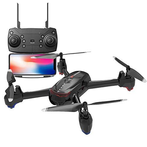 LYHLYH Quatre Axes UAV, Le Flux Optique de Point Fixe à Hauteur Fixe UAV Photographie aérienne à Haute définition Longue Endurance Avions de contrôle à Distance Deux caméras