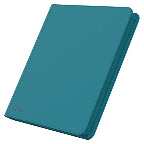 Ultimate Guard 12-Pocket quadrow xenoskin zipfolio (Bleu pét