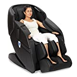 JSB MZ08 Full Body Massage Chair for Home and Office (Luxury 3D Space Saving Design) (AC Powered) (Black)