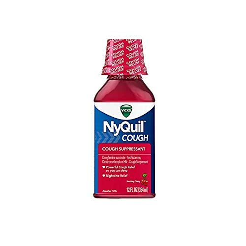 Vicks NyQuil Cough Nighttime Relief 12 oz (Pack of 6)