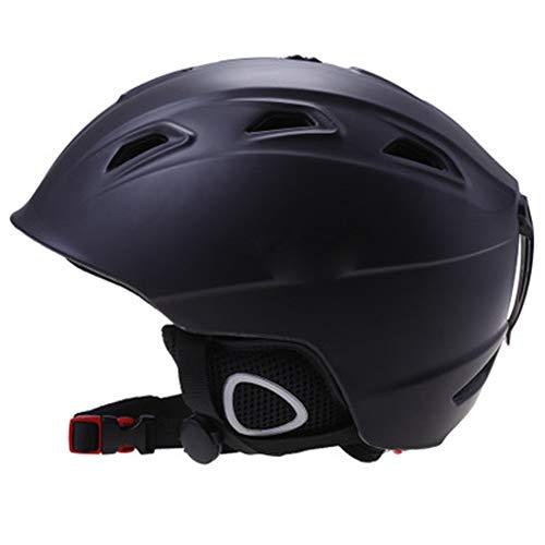 Outdoor fietshelm, Skihelm, outdoor sportuitrusting voor jongens en meisjes, beschermende uitrusting fineer volwassen sneeuwhelm