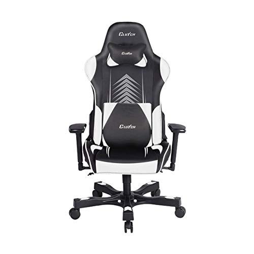 "Clutch Chairz Crank Series ""Poppaye Edition"" Gaming Chair (White)"