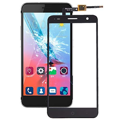 YANTAIAN Piezas de reparación de teléfonos celulares Conjunto de Pantalla táctil ZTE Blade V7 (Color : Black)