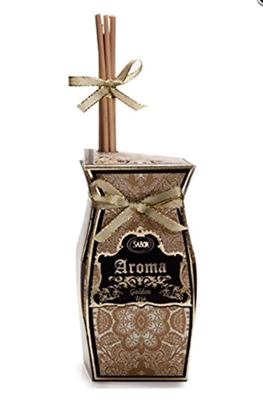 スペードエンコミウムレディSABON Aroma Reed Diffuser アロマ ルーム フレグランス【ゴールデンアイリス 】 リードディフューザー イスラエル発 並行輸入品 海外直送