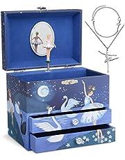 Jewelkeeper - La Caja Musical Jewelkeepergrande y Juego de Joyas de niñitas - 3 Regalos para niñas