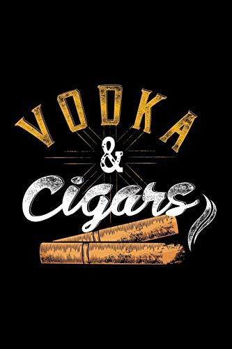 mächtig der welt Tagebuch: Wodka und Zigarren Rauchen von Zigarren, alkoholischen Getränken, Trinken mit schwarzem Futter, Tagebuchnotizen – 120…