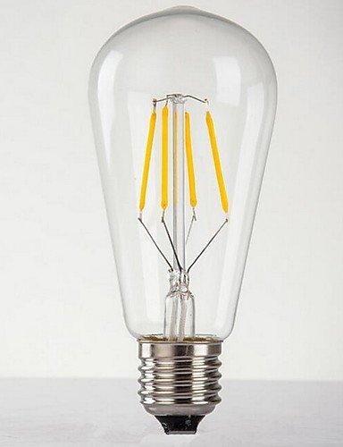 Retro Edison die Glühbirne (8W) Glas Schnuller geben, weiss, 220V #3