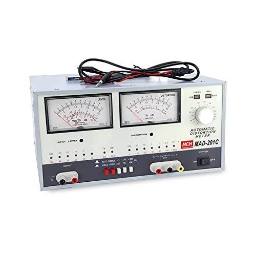Précis Mesureur de distorsion automatique 20Hz-20kHz MAD-201C Durable (Size : 110V)
