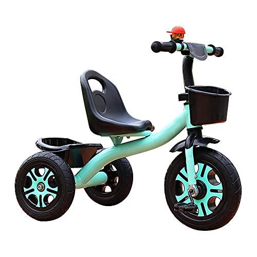 Triciclo trike 2 in 1 bambini triciclo con pedale, altezza multifunzione regolabile all'aperto per allenamento all'aperto, per 2-5 anni ragazzi e ragazze regalo di compleanno, bilanciamento (colore: r