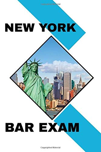 New York Bar Exam: Lined Notebook / Journal Gift, 120 pages, 6x9, Statue of Liberty, Empire State Building, Brooklyn Bridge, Matte finish, New Year Gifts
