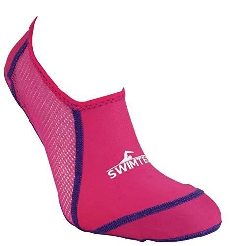 SwimTech Pool Socks, Pink, M, Pink, M
