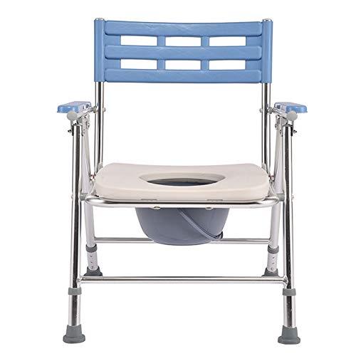 Toiletbril opvouwbare huishoudstoilletten geschikt voor oudere mensen met een handicap ongemak. Silvergrey