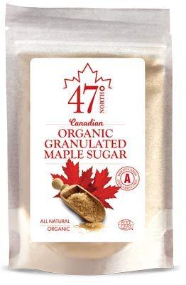 47 North Azúcar de arce granulado orgánico canadiense (250