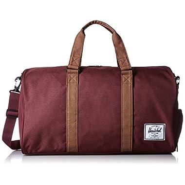Herschel Supply Co. Novel Duffel Bag, Windsor Wine/tan