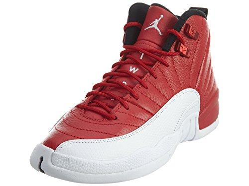 Nike Air Jordan 12 Retro bg, Zapatillas de Baloncesto para Hombre, Rojo (Rojo (Gym Red/White-White-Black), 38.5 EU