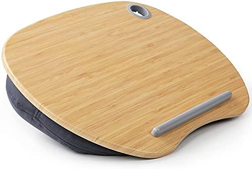 Soporte para portátil de bambú