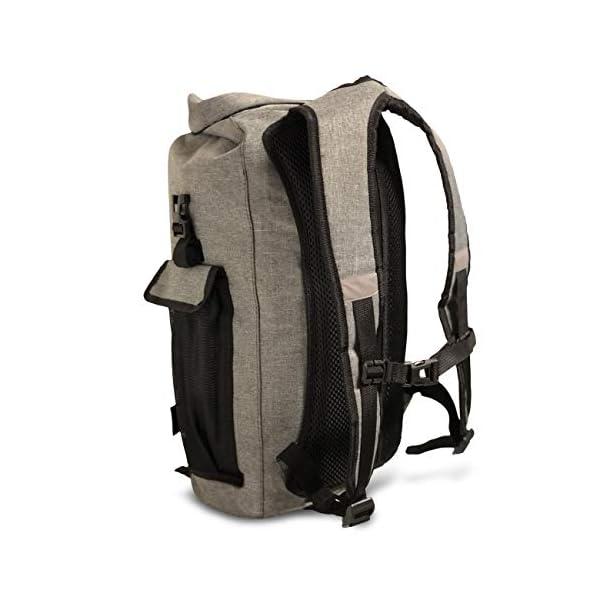 410owvx57 L. SS600  - FE Active Mochila Impermeable Dry Bag - Bolsa Estanca 25L para Deportes Acuáticos, Escuela, Aire Libre, Bolsa de Gimnasio, Camping, Mochilero, Senderismo, Cano, Kayak, Surf | Diseñada en California