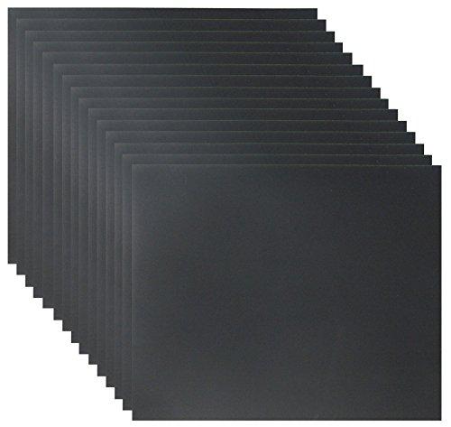 15er Set Schleifpapier K600 DIY, wasserfest I Wasserschleifpapier, Sandpapier Nass-Schleifpapier, Blatt, Trockenschleifpapier, Handschleifpapier
