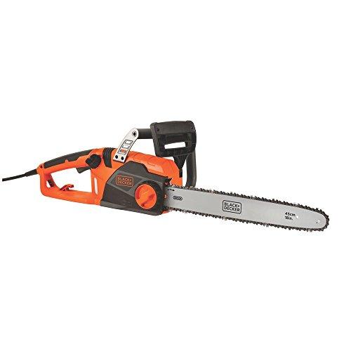 "BLACK+DECKER CS1518 15amp 18"" Corded Chainsaw (Renewed)"
