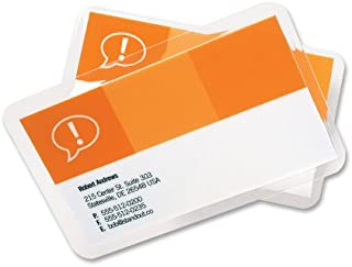 GBC HeatSeal LongLife Thermal Laminating Pouches 2.1 x 3.6 2 3/16 x 3 11/16, Business Card Clear