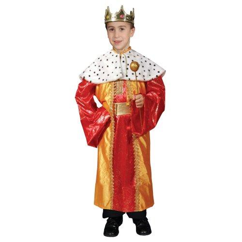 Dress Up America Regal De Lujo Rey Disfraz Set para niños