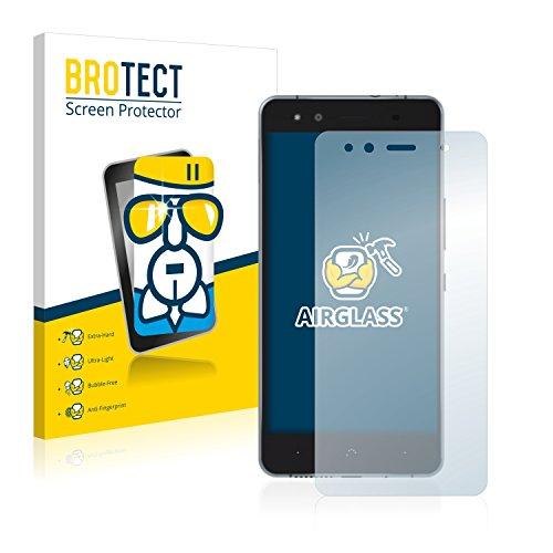 BROTECT Protector Pantalla Cristal Compatible con BQ Aquaris X5 Cyanogen Protector Pantalla...
