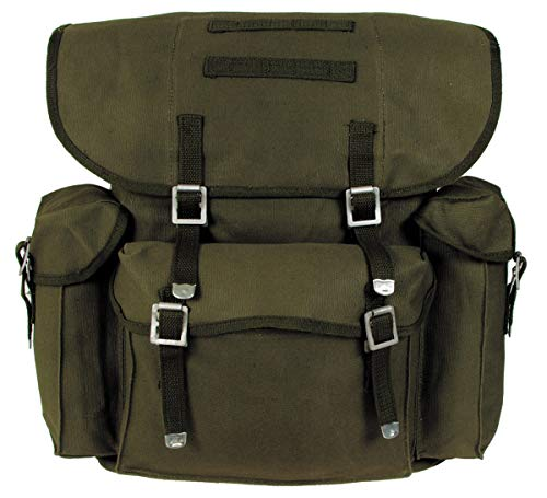 MFH Old German Army Sac à dos olive