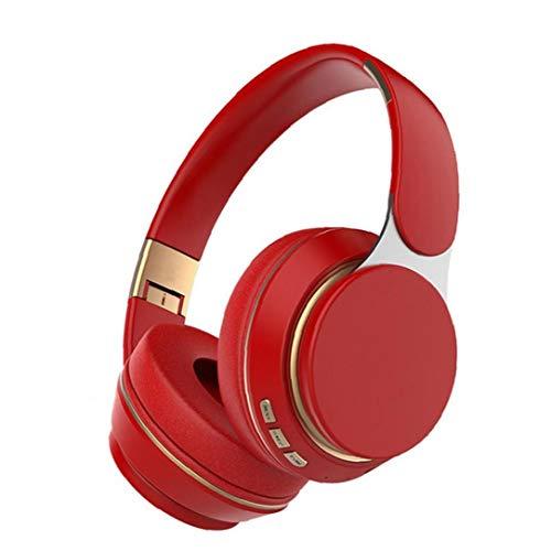 Ear Auriculares Bluetooth Auriculares de Juego inalámbricos a través de Auriculares Ajustable T7 con el Mic para el teléfono de la PC TV RedBluetooth Y Auriculares con Cable