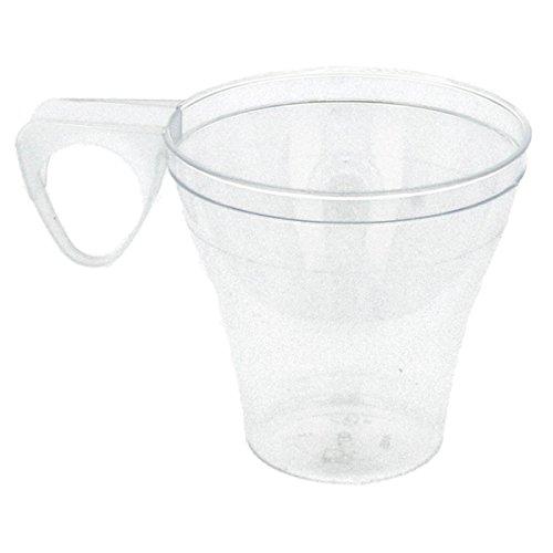 Garcia de pou Tasses À Café 80 Ml Transparent Ps - 1200 unités