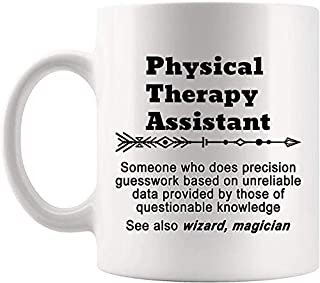 Definition Physical Therapy Assistant Meaning Mug Present - 11Oz Coffee Cup - Gag Gifts For Men Women T-Shirt Cups Mugs